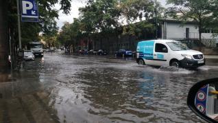 Afecciones provocadas por el agua en la Plaza de los Sitios