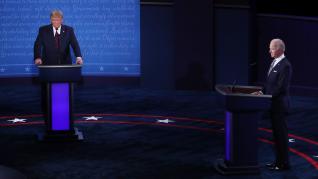 Biden y Trump protagonizan un primer bronco debate en Estados Unidos