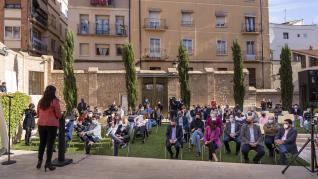 Entrega de los premios a las mejores tapas del concurso de Tapas de Teruel