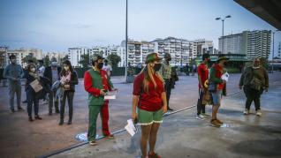 Medidas de seguridad en el España-Portugal.
