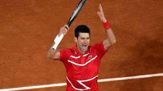 Nadal se mide ante Djokovic en la final de Roland Garros.