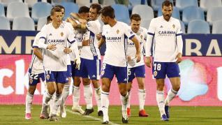Real Zaragoza - Albacete: fotos de la segunda mitad del partido en La Romareda