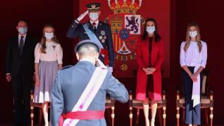 Los Reyes presiden un 12-O sin desfile militar.