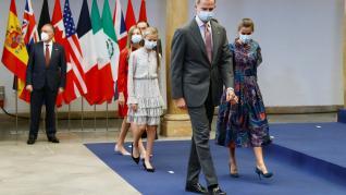 Audiencia a los galardonados de Premios Princesa de Asturias