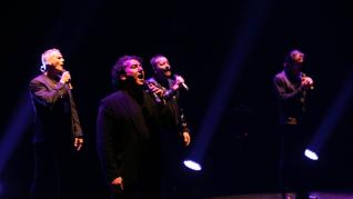 Concierto de 25 aniversario de BVocal, en el Auditorio de Zaragoza.