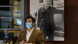 Foto de la exposición '120 años haciendo cerveza' de La Zaragozana