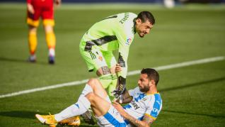 Foto del partido Leganés-Real Zaragoza, jornada 7 de la Liga SmartBank
