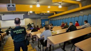Casi 1.200 jóvenes acuden a Calatayud en busca de un futuro como guardias civiles