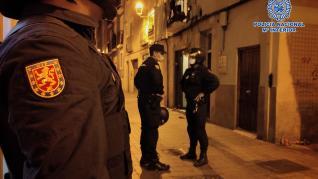 Desarticulada en Zaragoza una banda criminal dedicada al tráfico de drogas en el barrio de San Pablo.
