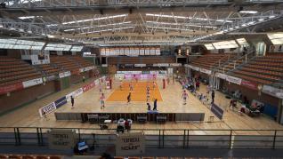 Foto del partido de Superliga de voleibol CV Teruel-FC Barcelona