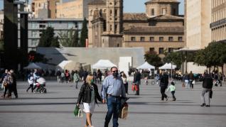 Primer fin de semana de confinamiento perimetral en Zaragoza