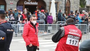Foto de la sexta etapa de la Vuelta a España entre Biescas y Formigal