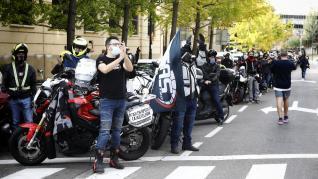 Manifestación del sector de la hostelería.