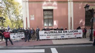 Concentra de Alumalsa en el SAMA.