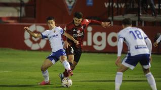 Derrota del Zaragoza contra el Mirandés