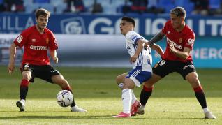 El Real Zaragoza se lleva un punto de su encuentro frente al Mallorca.