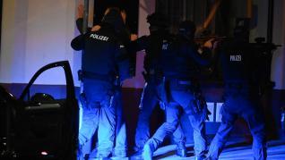 Imágenes del atentado terrorista en Viena.