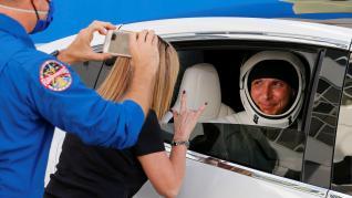 Cuatro astronautas, rumbo a la EEI