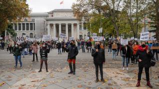 """Protesta para denunciar el """"maltrato"""" de la Sanidad Pública"""