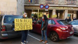 Protesta contras el nuevo impuesto que sustituye al ICA