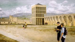 Los proyectos presentados al concurso de ideas para el futuro Palacio de Congresos de Aínsa pueden verse en el nuevo Centro Cultural.