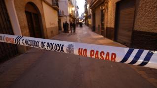 Tiroteo en la calle de Boggiero de Zaragoza.