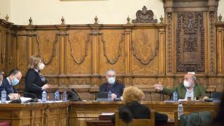 Pleno municipal de Calatayud.