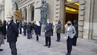 Minuto de silencio en Zaragoza contra la violencia machista