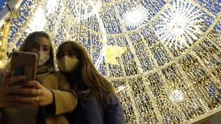 Encendido de la luces de Navidad en Málaga