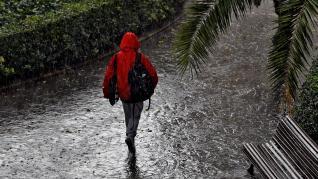 Temporal de lluvias en España