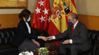 Visita de Ayuso a Aragón