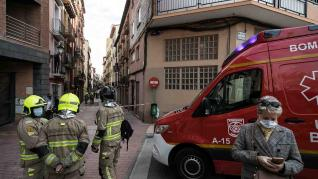 Tres okupas, detenidos por actos vandálicos en la calle Pignatelli
