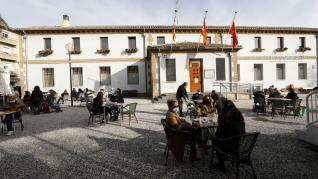 Barrio de Casetas tras el fin del cierre perimetral de Zaragoza capital.