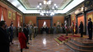 El Rey preside la ceremonia de la Pascua Militar.