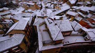 La nieve deja bonitas estampas en Toledo
