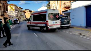 La Guardia Civil de Teruel auxilia a dos personas contagiadas por covid en un refugio de Camarena de la Sierra