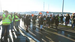 Imágenes de la protesta del sector de la nieve de este 13 de enero de 2021
