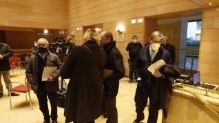 Reunión del Gobierno de Aragón con los representantes de las comarcas afectadas por el cierre del turismo de nieve