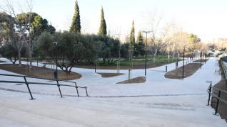 Reapertura del parque Torre Ramona en Zaragoza