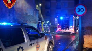 Muere una mujer de 70 años en un incendio en una vivienda de Calatayud