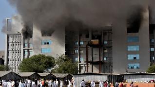 Incendio en una fábrica de la India