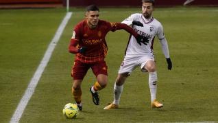 Foto del partido Albacete-Real Zaragoza, de la 22ª jornada de Segunda División