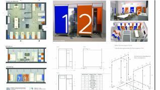 Diseño para el albergue