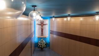 El nuevo columbario de Santa Rita, en Zaragoza.