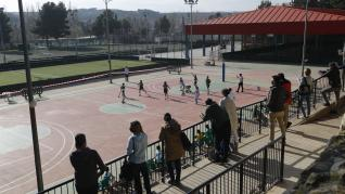 El deporte aragonés vuelve a la competición un año después: baloncesto en el Stadium Casablanca
