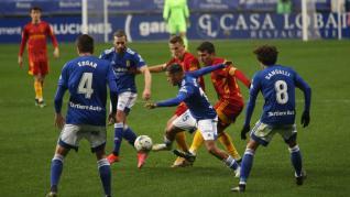 Partido Real Oviedo - Real Zaragoza, jornada 27 de LaLiga SmartBank