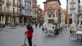 Desconfinamiento de la capital de Teruel