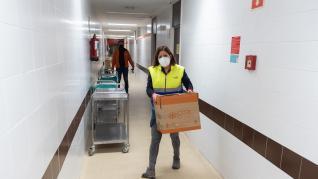 La ruta para repartir la vacuna recorre 450 kilómetros por las provincias de Zaragoza y, sobre todo, Teruel.