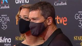 Antonio Banderas y María Casado