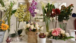 Flores Ohana, comercio de flores y plantas artificiales en la calle Princesa de Zaragoza